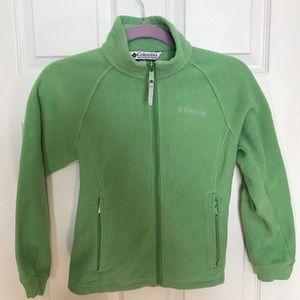 Columbia Kids Green Fleece-size 10/12